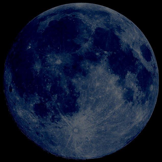 the moon age calendar outline